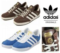 Adidas Men's Originals Beckenbauer Trainers Retro Suede Casual Shoes UK Sizes