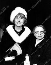 8b20-1749 Agnes Moorehead out with mother maybe 8b20-1749
