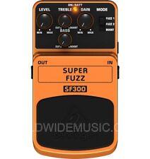 Behringer SF300 Fuzz - 3 Super Mode Fuzz Distorsione Chitarra Effetto Pedale
