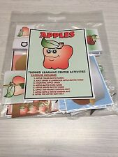 Apples - Themed Learning Activities Package -Laminated - Teaching supplies
