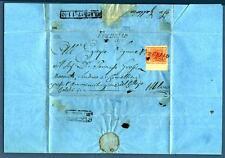 AUSTRIA - LOMBARDO VENETO - 1852 -Lettera  da Verdello diretta a Milano