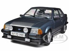 1984 FORD ESCORT RS1600i BLUE 1/18 DIECAST MODEL CAR BY SUNSTAR 4999