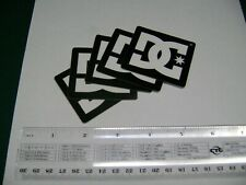 """DC Shoes Stickers Five Pack, Genuine. 2""""x2"""", Skateboard Bmx"""