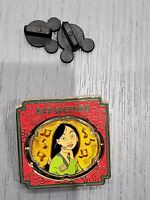 Disney Mulan Ping Pin Reflection Spinner #48 Magical Musical Moments 16668 MMM