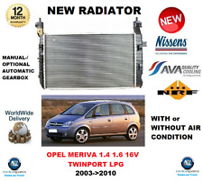 FOR OPEL MERIVA 1.4 1.6 16V TWINPORT LPG 1.8 2003->2010 NEW RADIATOR OE QUALITY