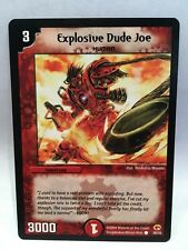 Explosive Dude Joe (38/55) | Duel Masters Trading Card Game Single Card