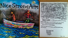 NICE STRONG ARM - REALITY BATH - HOMESTEAD - 1987 LP + INSERT