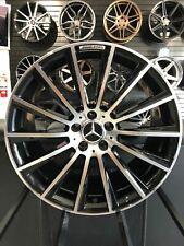 17x8 Black Machine S63 Amg Rims Wheel Mercedes Benz C300 Cla250 Cla300 E350 Glc