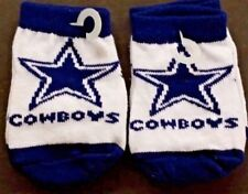 NFL Infant Baby Socks (Size 12-18 Months) Dallas Cowboys #1-2 (2 Pair)