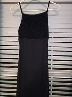 Long Black Formal Dress Size Small Evening Gown Simple & Beautiful Worn Once