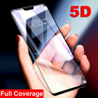 For Oneplus 5 6 Premium 5D Curved HD Clear Full Tempered Glass Screen Protect hi