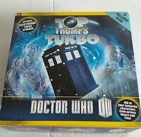 Doctor Who Top Trumps Turbo Board Game with 6 Exclusive Dr Who Top Trumps Packs