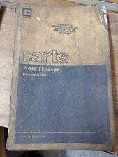 Caterpillar Parts Book Tractors D9H Power Shift