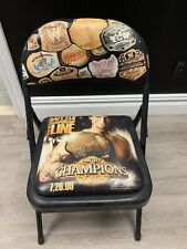 WWE 2009 Night Of Champions Collectible Ringside Chair - New