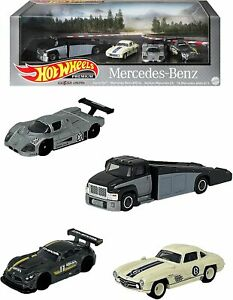*PRE ORDER* Hot Wheels Premium Collector Set Assorted Mercedes-Benz 986H-GMH39