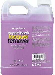OPI EXPERT TOUCH Nail Polish Remover -PERFECT FOR GEL NAILS x1 Gallon (x4 960ml)