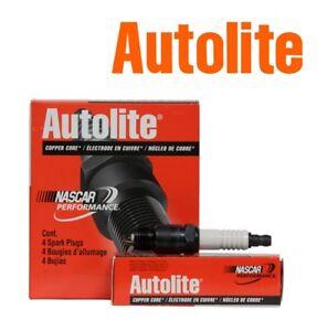 AUTOLITE COPPER CORE Spark Plugs 425 Set of 4