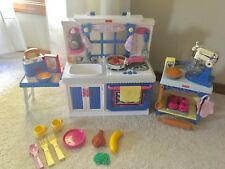 Fisher Price ~ My Sweet Kitchen ~ 3 Complete Sets ~ Fits American Girl ~ Mint!!