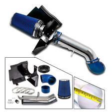 "4"" V8 Cold Air Intake Induction Kit+Filter 99-06 for Sierra 1500/2500/3500 Blue"