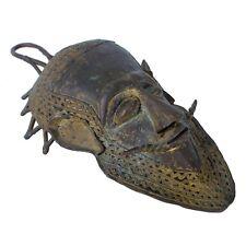 African Baule Bronze Mask