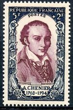 TIMBRE FRANCE NEUF LUXE**  N° 867 ** CELEBRITE du XVIII° ANDRE MARIE CHENIER