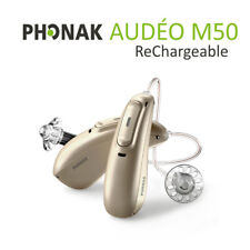Phonak Audeo Marvel Hearing Aids M50 - Rechargeable - Bluetooth (Pair)