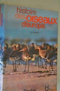 Histoire des oiseaux d'Europe / L.J. Yeatman / Bordas / Ref P40
