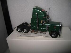 1/58 MATCHBOX COLLECTIBLES  PETERBILT SEMI TRUCK CAB ONLY GREEN  KS193/A-M