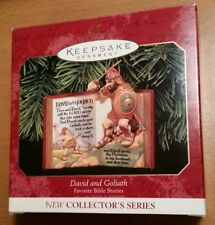 David And Goliath Hallmark Keepsake Ornament 1999 Collector'S Series: First Item