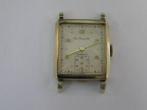Vintage Paul Breguette Watch Fancy Lugs 1950's
