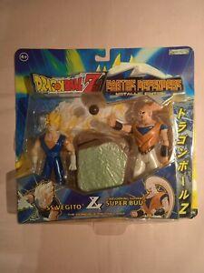 Pack 2 Figurines Dragon Ball Z - JAKKS Pacific 2003 - VEGITO & SUPER BUU - NEUF