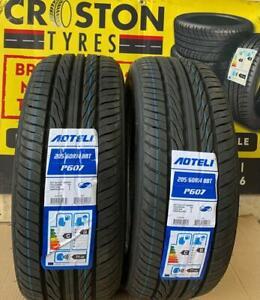 2 x 205/60R14 AOTELI 88T P607 B/C RATINGS quality  HIGH MILEAGE  Tyres 2PCS