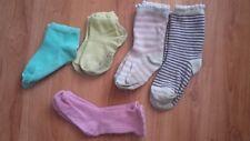 Lot de 5 paires de chaussettes taille 19/22 fille