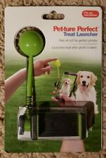 Dog Treat Launcher Fetch Toy ~ NEW Pet-ture Perfect Smartphone Cell Phone
