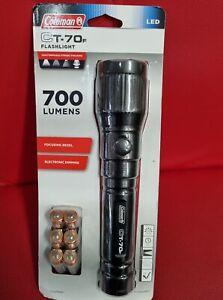 Coleman TACTICAL TORCH +6 AA Batteries, 700 Lumens 315m Beam CT-70F - USA Brand