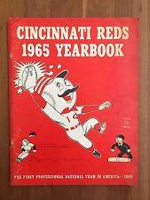 Official Cincinnati Reds 1965 Baseball Yearbook