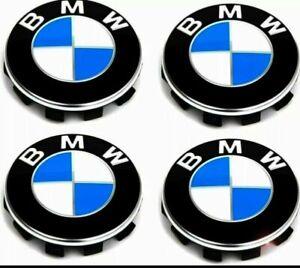 4x68mm BMW  Radnabenabdeckung Nabendeckel Nabenkappen Radkappen Neu