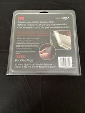 "3682 Automotive Acrylic Plus Attachment Tape 03682 Black,1//2/"" x 20 yd-45mi 06382"