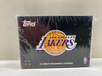 2008 Topps  Los Angeles 15 Lakers Trading Cards Original Unopened Black Box