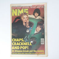 NME magazine 6 February 1993 ST ETIENNE cover Rage Against the Machine Metallica