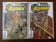 Convergence Aquaman Comic Set # 1 & 2 Dc Comics Near Mint