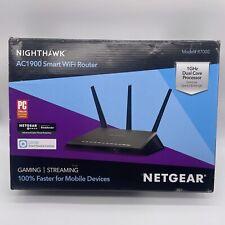 Netgear Nighthawk AC1900 Smart WiFi Dual Band Gigabit Router Model R7000