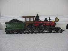 "Vintage Sexton Locomotive & Tender Train Cast Aluminum Wall Plaque 27"" Length"