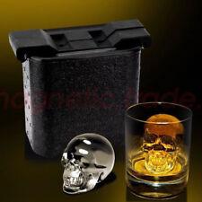 Crystal Clear Ice Tray Whiskey Tray Wine Mold Maker Make Skull Ice