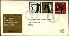 Netherlands 1965 Resistance Commemoration FDC First Day Cover #C36172