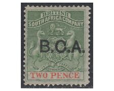 British Central Africa stamps 1891optd B.C.A 2d. sea green/vermil SG. 2 MH -F307