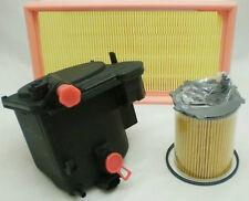 Pour citroen C5 1.6 hdi td huile/air/carburant diesel filtre service kit 04-08