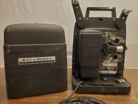 Vintage Bell & Howell Auto Load 8MM Film Movie Projector Model 256 Made In USA