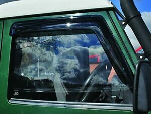 Land Rover Defender Front Window Wind Deflectors - DA6078