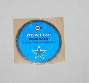Retro Sticker -  Dunlop Blue Star General Purpose Knee Boot